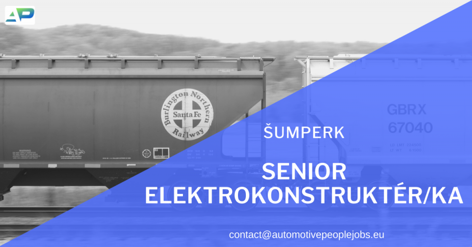Momentálně hledáme vhodné kandidáty na pozici SENIOR ELEKTROKONSTRUKTÉR/KA 🔌 se zkušeností z oboru KOLEJOVÉ TECHNIKY pro našeho klienta, kterým je strojírenská společnost.Místo výkonu práce: ŠUMPERKV případě Vašeho zájmu o více informací mě neváhejte kontaktovat na čísle 778 726 935 nebo emailu kamila.zikova@freightpeople.eu